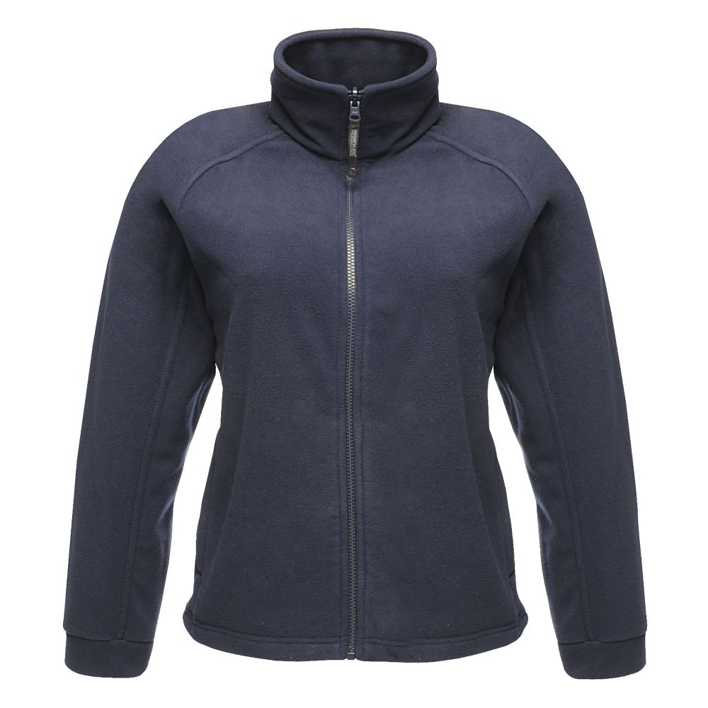 Adults Hern Gate Dressage Navy  Lady's fit fleece jacket rg123
